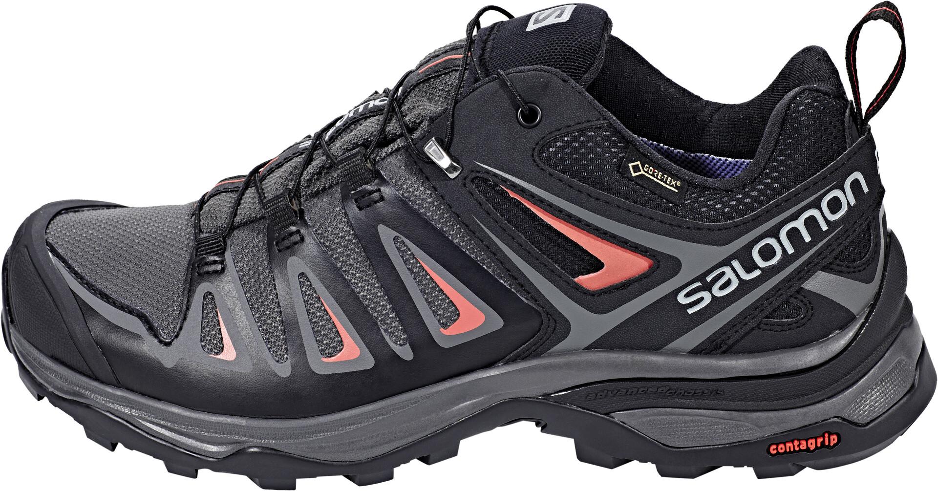 Salomon X Ultra 3 GTX Hiking Shoes Women magnetblackmineral red